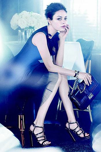 Мила Кунис как лицо Christian Dior